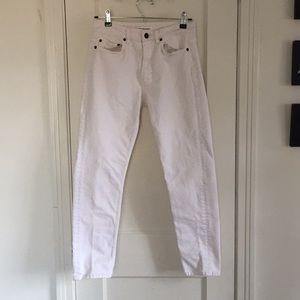 Won Hundred White/Dirty White Jean 26